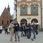 Coaching Flash Mob na Rynku Głównym w Krakowie